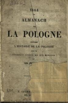 Almanach de la Pologne Contenant l'Histoire de la Pologne suivie du Polonais Apris en dix Minutes par un Polonais