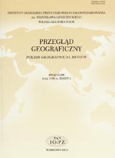 Przegląd Geograficzny T. 84 z. 2 (2012)