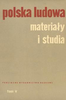 Polska Ludowa : materiały i studia. T. 5 (1966)