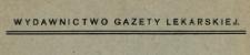 Wydawnictwo Gazety Lekarskiej