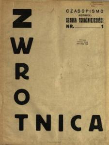 Zwrotnica : czasopismo : kierunek : sztuka teraźniejszości
