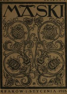 Maski : literatura, sztuka i satyra
