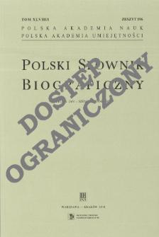 Polski słownik biograficzny T. 48 (2012-2013), Szeliga (Scheliga, Seliga) Jan - Szpilman Władysław