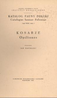 Katalog Fauny Polski