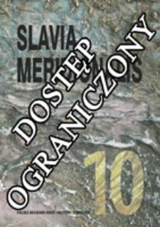 Slavia Meridionalis : studia slavica et balcanica. [T.] 10, Paradygmaty badawcze językoznawstwa południowosłowiańskiego (2010)