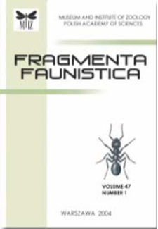 Fragmenta Faunistica vol. 55 (2012)