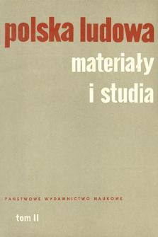 Polska Ludowa : materiały i studia. T. 2 (1963), Informacja