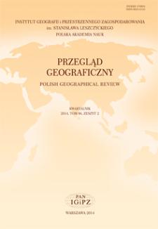 Przegląd Geograficzny T. 86 z. 2 (2014)