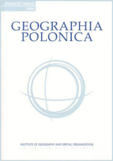 Geographia Polonica Vol. 87 No. 3 (2014)