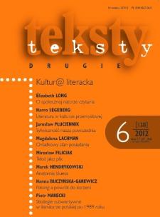 Teksty Drugie Nr 6 (2012)