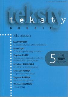 Teksty Drugie Nr 5 (2009)