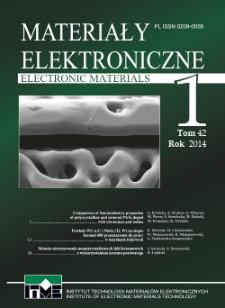 Electronic Materials = Materiały Elektroniczne