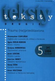 Teksty Drugie Nr 5 (2004)
