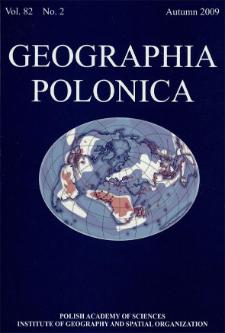 Geographia Polonica Vol. 82 No. 2 (2009)