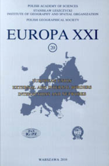 Europa XXI 20 (2010) : European Union : external and internal borders, interactions and networks