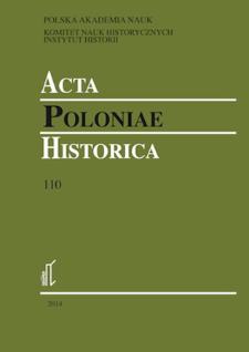 Acta Poloniae Historica. T. 110 (2014), Society in the Polish People's Republic