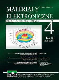 Electronic Materials 2014 V.42 No 4