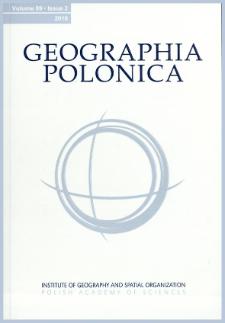 Geographia Polonica Vol. 89 No. 2 (2016)