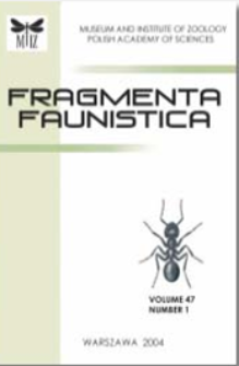 Fragmenta Faunistica, vol. 58, no. 2