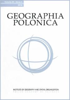 Geographia Polonica Vol. 89 No. 4 (2016)