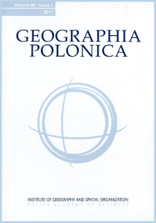 Geographia Polonica Vol. 90 No. 3 (2017)