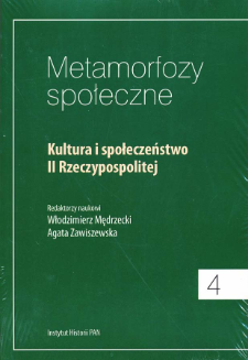 Kultura i społeczeństwo II Rzeczypospolitej