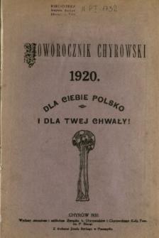 Noworocznik Chyrowski
