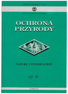 Nature Conservation Ann. 57 (2000)
