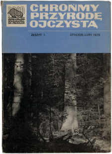 Let's protect Our Indigenous Nature Vol. 31 issue 1 (1975)