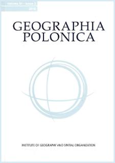 Geographia Polonica Vol. 92 No. 1 (2019)