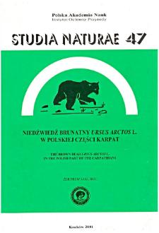 Studia Naturae No. 47 (2001)