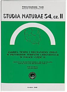 Studia Naturae No. 54 p. II (2008)