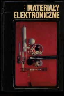 Materiały Elektroniczne 1973 = Electronic Materials 1973