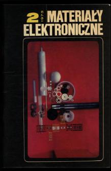 Materiały Elektroniczne 1973 nr 2
