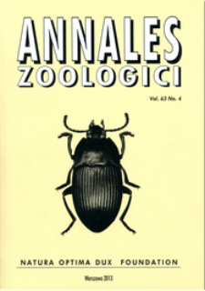 Annales Zoologici ; t. 19